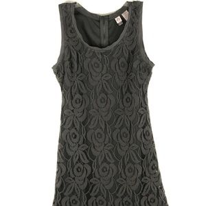 Love on a Hanger Ladies Lace Dress Size M Gray